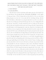 """MỘT SỐ BIỆN PHÁP NÂNG CAO CHẤT LƯỢNG CHỮ VIẾT GÓP PHẦN DUY TRÌ PHONG TRÀO """"GIỮ VỞ SẠCH – VIẾT CHỮ ĐẸP"""" Ở TRƯỜNG TIÊỦ HỌC SỐ 2 KIÊN GIANG"""