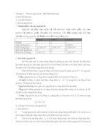 Tóm tắt lý thuyết và bài tập định luật tuần hoàn và liên kết hóa học
