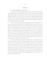 Đời sống văn hoá của cư dân óc eo ở tây nam bộ (qua tư liệu khảo cổ học  luận án tiến sỹ văn hóa học