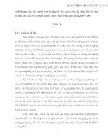 XHH061 - Ảnh hưởng của việc tuyên truyền dân số - kế hoạch hóa gia đình đối với vấn đề sinh con thứ 3 ở Thuận Thành - Bắc Ninh trong giai đoạn 2000 - 2004