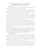 Sáng kiến kinh nghiệm MỘT SỐ BIỆN PHÁP NÂNG CAO CHẤT LƯỢNG CHO TRẺ 4-5 LÀM QUEN VĂN HỌC