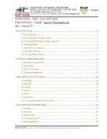 Giáo trình web tĩnh html css javascrip
