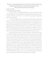 Sáng kiến kinh nghiệm MỘT SỐ BIỆN PHÁP GÂY HỨNG THÚ CHO TRẺ TRONG GIỜ LÀM QUEN MÔI TRƯỜNG XUNG QUANH MẪU GIÁO 4 -5 TUỔI TRONG TRƯỜNG MẦM NON YÊN THANH