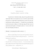 Sáng kiến kinh nghiệm MỘT SỐ BIỆN PHÁP RÈN PHÁT ÂM CHỮ L – N CHO TRẺ 5 TUỔI
