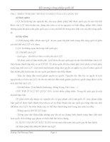 55 câu hỏi ôn tập công pháp quốc tế có đáp án - Đại học Luật Hà Nội