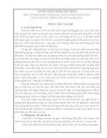 Sáng kiến kinh nghiệm MỘT SỐ BIỆN PHÁP NÂNG CAO CHẤT LƯỢNG GIẢNG DẠY THEO CHƯƠNG TRÌNH GIÁO DỤC MẦM NON