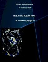 Hệ thống GPS và thi công module sim908