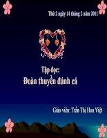 Bài giảng Tiếng Việt lớp 4