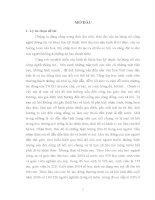 luận văn thạc sĩ Nhận thức và thái độ của sinh viên trường Cao đẳng sư phạm Lào cai trước những tệ nạn xã hội trong học đường