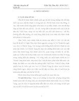 tiểu luận Bối cảnh lịch sử trước cải cách hành chính của Lê Thánh Tông và con người Lê Thánh Tông