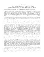 Chương 1. Đối tượng, nhiệm vụ và phương pháp nghiên cứu  bộ môn phương pháp dạy học Địa lí