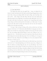 luận văn LLVT Vĩnh Phúc trong kháng chiến chống Pháp (1945 – 1954);