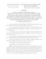 Thông tư về việc sửa đổi, bổ sung của Điều lệ Trường mầm non ban hành kèm theo Quyết định số 14/2008/QĐ-BGDĐT