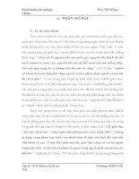 tiểu luận Bước đầu tìm hiểu truyền thống khoa bảng của nhân dân huyện Đức Thọ ( Hà Tĩnh ) thời kì phong kiến