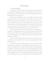 luận văn Kiến trúc Phố Cổ trải qua thăng trầm lịch sử Thăng Long – Hà Nội