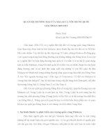 tiểu luận Quan hệ thương mại của Malacca với Trung Quốc Giai đoạn 1400-1511