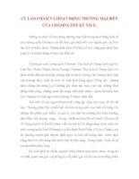 tiểu luận Cù lao Chàm và hoạt động thương mại biển của Champa thế kỷ VII-X.