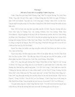 tiểu luận Thân phận và Tình yêu trong ca từ Trịnh Công Sơn