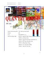 phân tích khách hàng mục tiêu và đối thủ cạnh tranh của Saigon Co.op