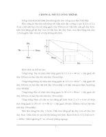 đồ án Công trình thiết kế điều hòa không khí cho xưởng may đặt ở Hà Nội..DOC
