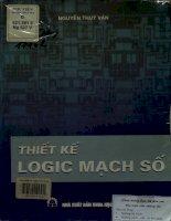 Thiết kế logic mạch số - Giáo trình dùng cho sinh viên các trường đại học