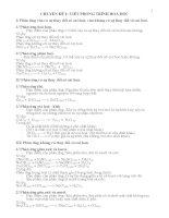 Chuyên đề bồi dưỡng HSG Hóa học 9