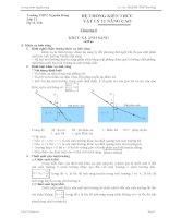 Hệ thống kiến thức chương 6 Vật lý 11 Nâng cao