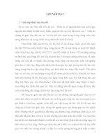 Tiểu luận tình huống ngạch chuyên viên: Xử lý tình huống về việc phụ huynh chưa quan tâm đúng mức đến việc học tập của con, em mình trên địa bàn xã Phú Châu  Huyện Ba Vì