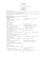 Giáo an tuần 23-24-25 CKTKN