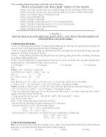 Tài liệu bồi dưỡng HSG Hóa 9