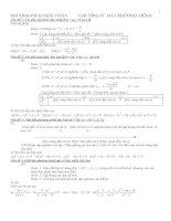 Phương pháp giải toán BPT đại số chương IV (Ban CB)