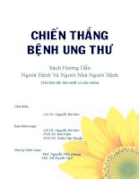 Chiến thắng bệnh ung thư GSTS Nguyễn Bá Đức