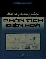 Một số phương pháp phân tích điện hóa