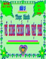 Bai 3 - Thuc hanh ve hinh chieu vuong goc cua vat the