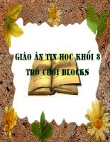 Bai 1 Tro choi Blocks.ppt