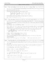 200 Bài tập Tọa độ mặt phẳng có lời giải chi tiết