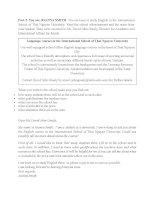 Tài liệu tiếng anh ôn B2 Writing part 2