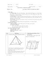 Giáo án chuyên đề hình học lớp 12