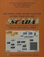 Hệ thống điều khiển giám sát và thu thập dữ liệu (SCADA) trong hệ thống điện
