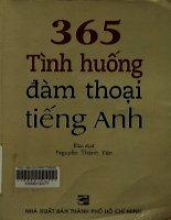 365 tình huống đàm thoại tiếng Anh