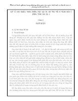 SKKN MỘT SỐ KINH NGHIỆM TRONG PHƯƠNG PHÁP GIÁO DỤC GIỚI TÍNH TUỔI VỊ THÀNH NIÊN Ở CHƯƠNG TRÌNH SINH HỌC 8