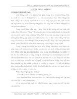 Sáng kiến kinh nghiệm Một só biện pháp giúp học sinh học tốt văn miêu tả lớp 4