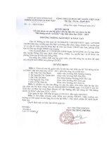 Số: 27/QD9-PGDĐT Quyết định v/v chọn cử CB, GV ôn tập cho các cháu dự thi cấp tỉnh