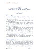sáng kiến kinh nghiệm RÈN CHỮ VIẾT CHO HỌC SINH LỚP 1 ĐỂ NÂNG CAO CHẤT LƯỢNG VỞ SẠCH CHỮ ĐẸP Trường Tiểu học TT Chí Thạnh số 1