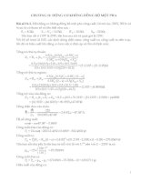 Bài tập có lời giải chương 11 Động cơ không đồng bộ một pha