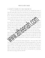 luận văn đại học sư phạm hà nội Chữ Nôm tự tạo trong Lục Vân Tiên truyện và Phú bần truyện diễn ca