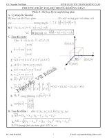 hình học giải tích không gian