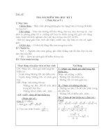Trả bài kiểm tra HK1 môn Toán 9 Lạng Sơn
