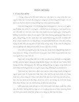 luận văn thạc sĩ Dạy học Tập đọc lớp 5 theo quan điểm tích hợp