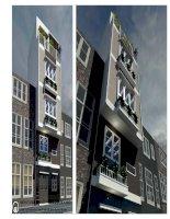 Mẫu thiết kế nhà phố có diện tích nhỏ  ArchDT.LP.001